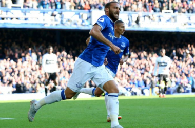 Cenk Tosun bagged for Everton | Photo: Yahoo Sports.