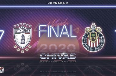 eChivas, con Fernando Beltrán al mando, son goleadas por ePachuca