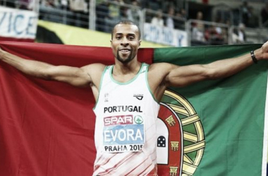 Triplo salto: Nélson Évora sagrou-se campeão europeu de pista coberta