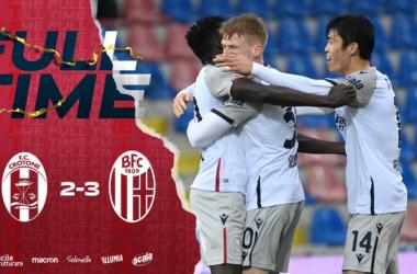 Il Crotone fa harakiri: il Bologna rimonta da 2-0 a 2-3!