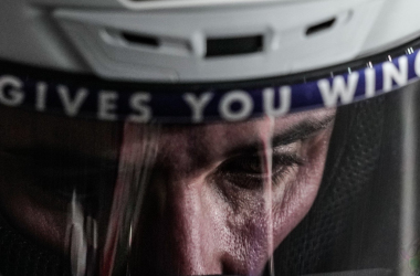 Álex Márquez detrás del casco | Fuente: Twitter del piloto