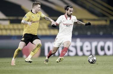 Borussia Dortmund - Sevilla FC; puntuaciones del Sevilla en octavos de la Champions League