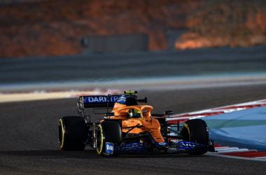Fonte foto: Twitter McLaren