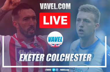 As it happened: Exeter City 3-1 Colchester United (3-2 agg)