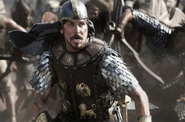 """Christian Bale es Moisés en la gran superproducción del director de """"Gladiator"""". Foto (sin efecto): Exodusgodsandkings"""