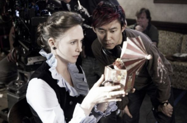 James Wan dirige a Vera Farmiga en una escena de 'Expediente Warren'. (Foto (sin efecto): blogdecine).