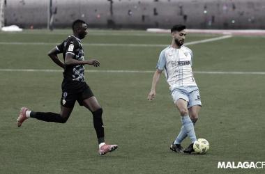Imagen del último encuentro entre el Málaga y el Almería / Fuente: Málaga CF