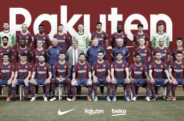 Foto oficial de la temporada 2020/21 | Foto: fcbarcelona.es