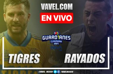 Resumen y goles: Tigres 2-1 Rayados de Monterrey en Clásico Regio de Liga MX Guard1anes 2021