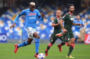 Di Lorenzo salva il Napoli: contro il Crotone finisce 4-3