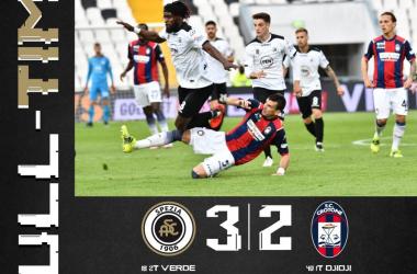 Spezia al cardiopalma: Crotone battuto 3-2 al 92'!!!
