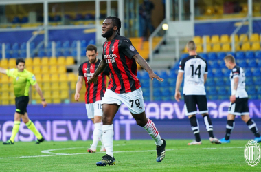 Un Milan in dieci soffre ma vince: Parma battuto 1-3