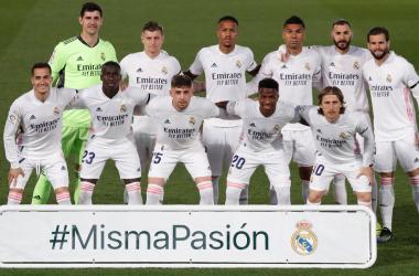 Real Madrid posando antes de comenzar el encuentro | Real Madrid