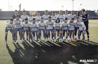 """Juvenil """"A"""" Málaga CF. Fuente: Málaga CF"""