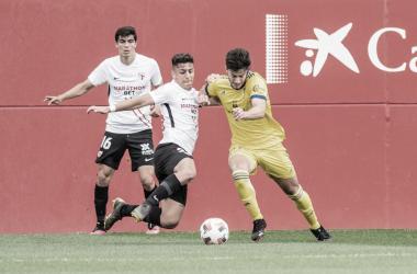 Crónica Sevilla Atlético vs Cádiz B: Depender de sí mismo para ascender (1-2)
