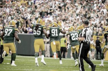 Los Green Bay Packers líderes de la NFC Norte