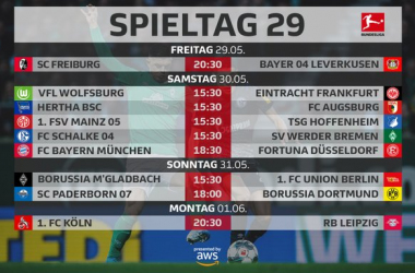 Bundesliga, il programma del weekend