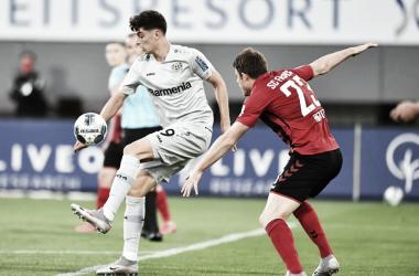 Havertz decide contra Freiburg, e Bayer Leverkusen segue na briga pela vice-liderança