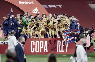 ¡El Barcelona gana la Copa del Rey en La Cartuja! | Foto: fcbarcelona.es