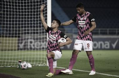 Puntuaciones de Santa Fe tras el empate por Copa Libertadores