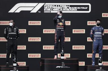 La foto del podio | Foto: Fórmula 1