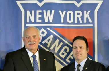 John Davidson (izquierda) y Jeff Gorton (derecha) / NY Daily News
