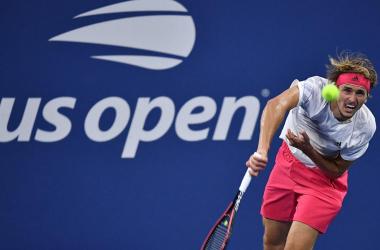 US Open: Alexander Zverev overcomes a slow start to beat Adrian Mannarino