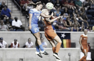 The Dash grabbed a late equalizer against a good Chicago team (Photo credit : Chicago Red Stars website)