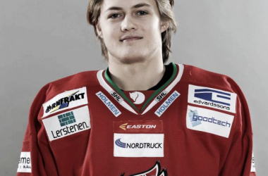 Swedish prospect and new Toronto Maple Leafs draft pick, who took him 8th overall.