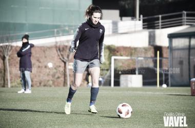 Mariona Caldentey en un entrenamiento | Foto de Noelia Déniz, VAVEL