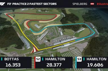 Formula 1 - Gran Premio d'Austria: è uno - due Mercedes anche nelle seconde libere