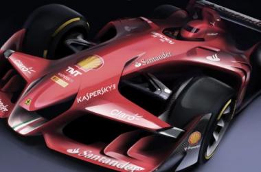 Conceito de monolugar F1 Ferrari (Imagem: Ferrari)