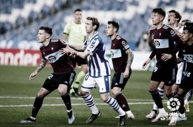 Real Sociedad – Celta: penaltis, tarjetas y peleas para acabar de pisotear el sueño europeo