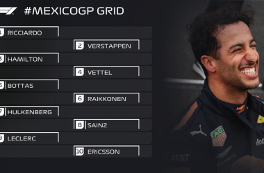 GP Messico LIVE - Vince Verstappen! Hamilton campione del mondo