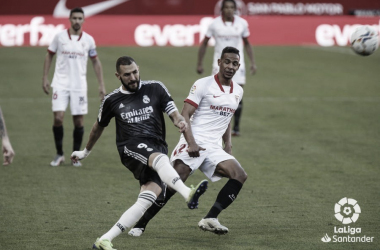 En la primera vuelta, el Real Madrid ganó al Sevilla 0-1 | Fuente: LaLiga.es