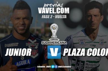 Previa Junior vs. Plaza Colonia: el 'tiburón' quieren asegurar su pase a octavos en la Sudamericana