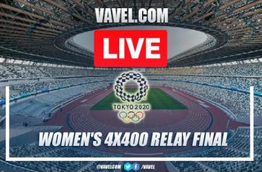 Highlights: Women's 4X400 Relay Final Tokyo 2020