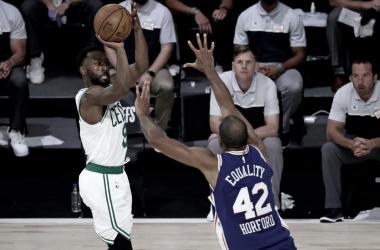 Crónica NBA: Boston Celtics finiquita a los 76ers y avanza a semifinales