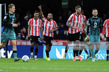 Brentford 3-1 Swansea City: Watkins brace gives Bees fifth successive home win