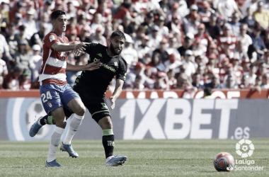 Granada CF - Real Betis: puntuaciones del Real Betis, 10ª jornada de LaLiga Santander