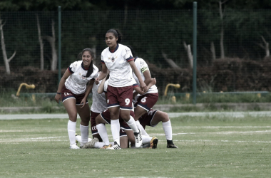 ¡Por fin! Fortaleza volvió a ganar en la liga femenina