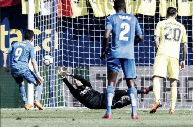 El Getafe naufraga ante el submarino // Fuente: Villarreal CF