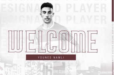 Younes Namli firma por Colorado Rapids