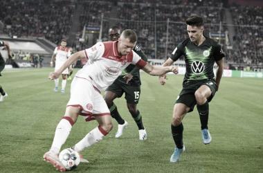 Pela Bundesliga, Fortuna Düsseldorf e Wolfsburg empatam na abertura da rodada