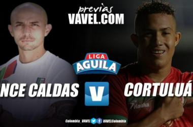 Once Caldas vs Cortuluá: un partido con mucho por definir.
