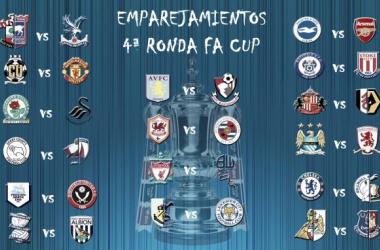 Sorteada la cuarta ronda de la FA Cup