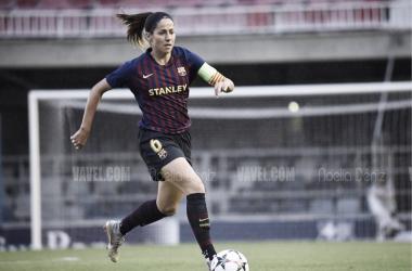 Vicky Losada en un partido de UEFA Women's Champions League | Foto de Noelia Déniz, VAVEL