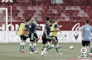 Sevilla FC - Real Betis: puntuaciones del Real Betis, 28ª jornada de LaLiga