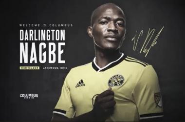 Darlington Nagbe firma por Columbus Crew SC