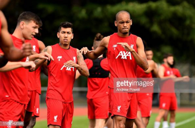 Fabinho keen to push on at Liverpool after debut season
